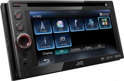 Автомагнитола JVC KW-AV51EE - общий вид