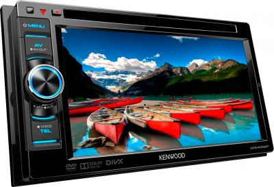 Автомагнитола Kenwood DDX-4055BT - вид в проекции
