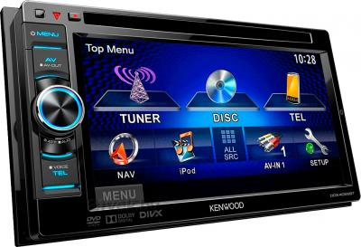 Автомагнитола Kenwood DDX-4055BT - меню
