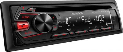 Автомагнитола Kenwood KDC-BT34U - общий вид