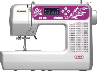 Швейная машина Janome 3700 - общий вид
