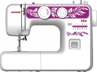 Швейная машина Janome 18E - фронтальный вид