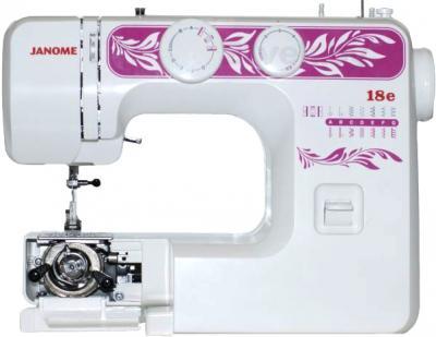 Швейная машина Janome 18E - качающийся челнок