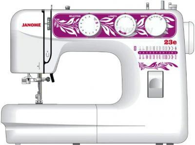 Швейная машина Janome 23E - фронтальный вид