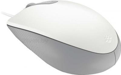 Мышь Microsoft Comfort Mouse 3000 (White) - вид сзади