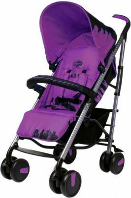Детская прогулочная коляска 4Baby City (фиолетовый) - общий вид