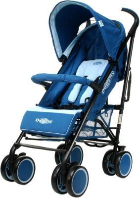 Детская прогулочная коляска 4Baby Damrey (синий) - общий вид
