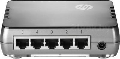 Коммутатор HP 1405-5G v2 (J9792A) - вид сзади