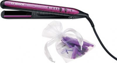Выпрямитель для волос Bosch PHS 9460 - со сменными силиконовыми вставками