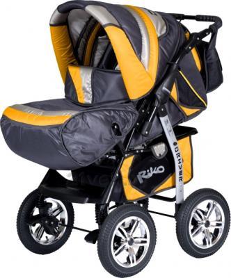 Детская универсальная коляска Riko Driver (Sun Yellow) - общий вид