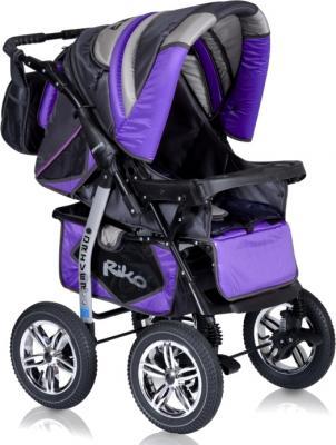 Детская универсальная коляска Riko Driver (Sun Yellow) - прогулочная (цвет ultra violet)