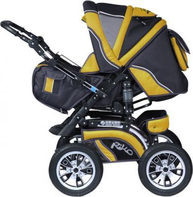 Детская универсальная коляска Riko Grand (Sun Yellow) - общий вид