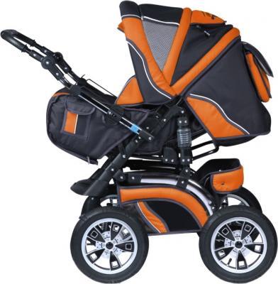 Детская универсальная коляска Riko Grand (Agent Orange) - общий вид