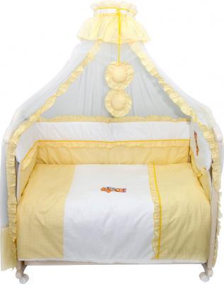Комплект в кроватку Bombus Юленька 3 (бежевый) - общий вид