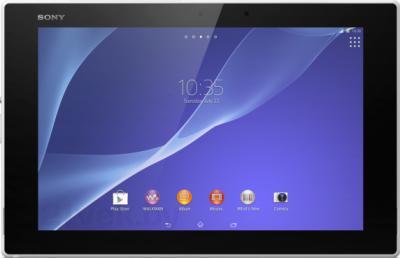 Планшет Sony Xperia Z2 Tablet 32GB WiFi (SGP512RU/W) - фронтальный вид