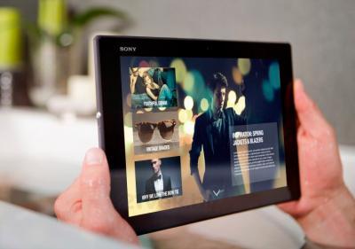 Планшет Sony Xperia Z2 Tablet 16GB LTE (SGP521RU/B) - водостойкий