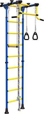 Детский спортивный комплекс Romana Комета 2 ДСКМ-2-8.06.Г.490.01-11 (синий/желтый) - общий вид