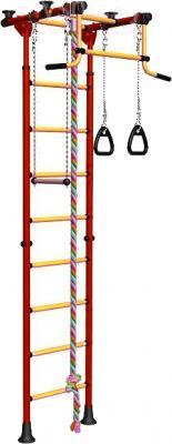 Детский спортивный комплекс Romana Комета 2 ДСКМ-2-8.06.Г.490.01-11 (красный/желтый) - общий вид