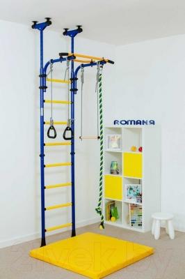Детский спортивный комплекс Romana Комета 5 ДСКМ-2-8.06.Г1.490.01-24 (зеленый/желтый)