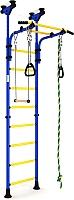 Детский спортивный комплекс Romana Комета 5 ДСКМ-2-8.06.Г1.490.01-24 (синий/желтый) -