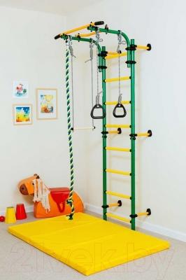 Детский спортивный комплекс Romana Комета Next 1 ДСКМ-2C-8.06.Г1.490.01-24 (зеленый/желтый)
