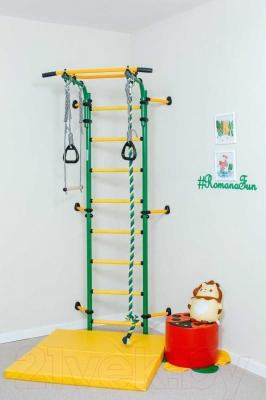 Детский спортивный комплекс Romana Комета Next 1 ДСКМ-2C-8.06.Г1.490.01-24 (красный/желтый)