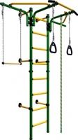 Детский спортивный комплекс Romana Комета Next 2 ДСКМ-2C-8.06.T1.490.01-24 (зеленый/желтый) -