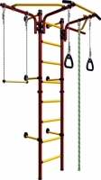 Детский спортивный комплекс Romana Комета Next 2 ДСКМ-2C-8.06.T1.490.01-24 (красный/желтый) -