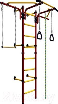 Детский спортивный комплекс Карусель Комета Next 2 ДСКМ-2C-8.06.T1.490.01-24 (красный/желтый)