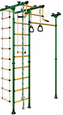 Детский спортивный комплекс Romana Меркурий 1 ДСКМ-3-8.06.Т.490.01-08 (зеленый/желтый) - общий вид