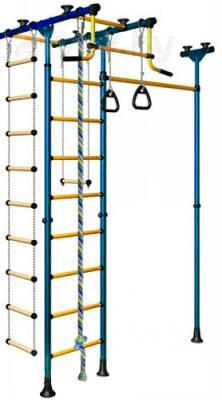 Детский спортивный комплекс Romana Меркурий 1 ДСКМ-3-8.06.Т.490.01-08 (синий/желтый) - общий вид