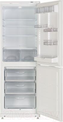 Холодильник с морозильником ATLANT ХМ 4012-100 - внутренний вид