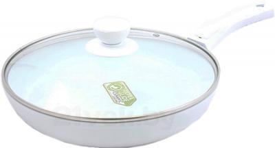 Сковорода SSenzo PTZRF026DW (White) - общий вид