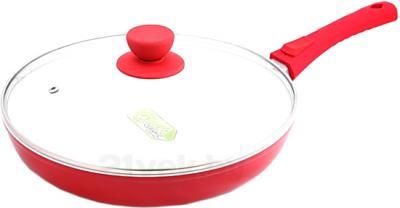 Сковорода SSenzo PTZRF028DR (Red) - общий вид