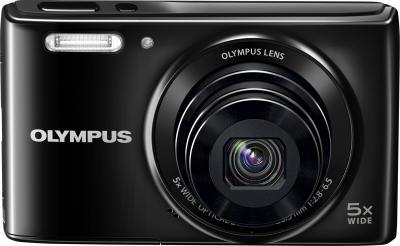 Компактный фотоаппарат Olympus VG-180 (Black) - вид спереди
