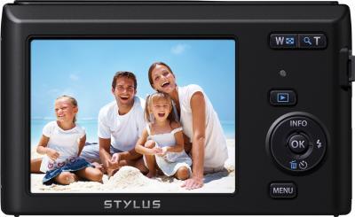 Компактный фотоаппарат Olympus VG-180 (Black) - дисплей