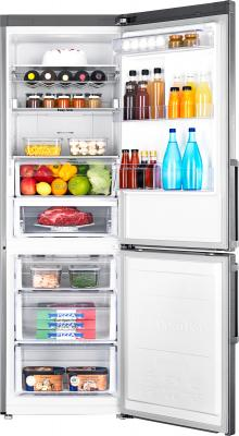 Холодильник с морозильником Samsung RB30FEJNCSS/RS - с открытой дверцой