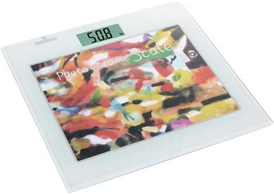 Напольные весы электронные Camry EB9342-S196 (с фоторамкой) - общий вид
