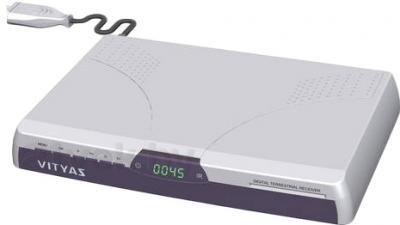Тюнер цифрового телевидения Витязь DTR-816FTA - общий вид