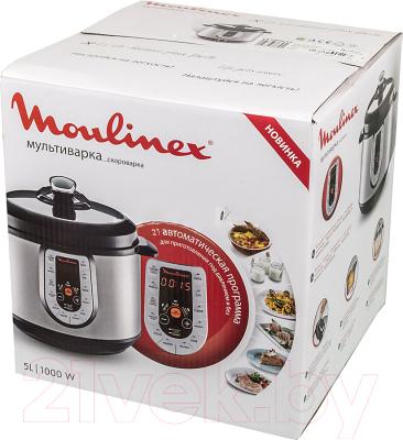 Мультиварка-скороварка Moulinex CE500E32 - коробка