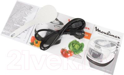 Мультиварка-скороварка Moulinex CE503132 - документы и кабель