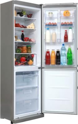 Холодильник с морозильником LG GA-M409ULQA - общий вид