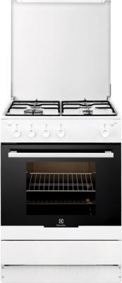 Кухонная плита Electrolux EKG60100OW - общий вид
