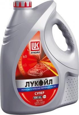 Масло Лукойл Люкс 10W40 (5л) - общий вид
