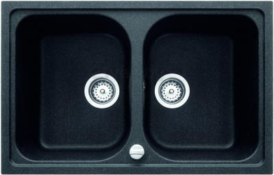 Мойка кухонная Teka Alba 80 B-TG (антрацит) - реальный цвет модели может отличаться от цвета, представленного на фото