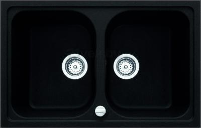 Мойка кухонная Teka Alba 80 B-TG (оникс) - реальный цвет модели может отличаться от цвета, представленного на фото