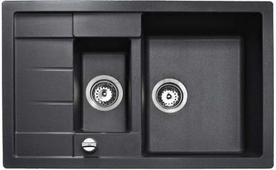 Мойка кухонная Teka Astral 60B-TG (антрацит) - реальный цвет модели может отличаться от цвета, представленного на фото