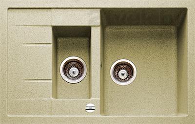 Мойка кухонная Teka Astral 60 B-TG / 88925 (топаз) - реальный цвет модели может немного отличаться от цвета, представленного на фото