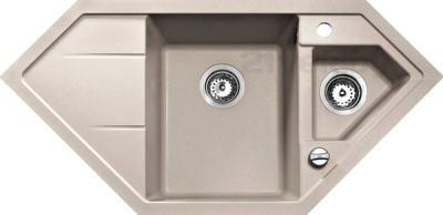 Мойка кухонная Teka Astral 70 E-TG (песочный) - реальный цвет модели может отличаться от цвета, представленного на фото