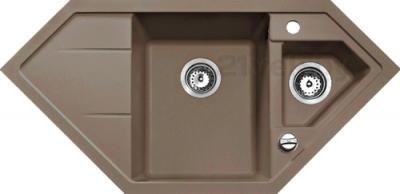 Мойка кухонная Teka Astral 70 E-TG (шоколад) - реальный цвет модели может отличаться от цвета, представленного на фото
